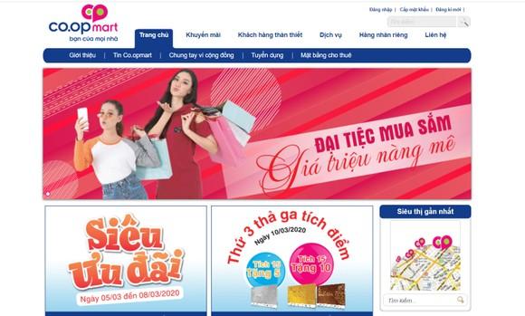 Nhiều siêu thị đẩy mạnh bán hàng online
