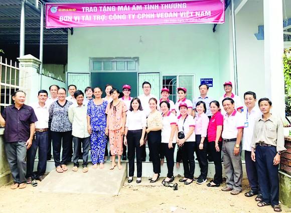 """Vedan Việt Nam trao tặng """"Mái ấm tình thương"""" cho hộ dân khó khăn tại xã Tân Hiệp tỉnh Đồng Nai ảnh 1"""