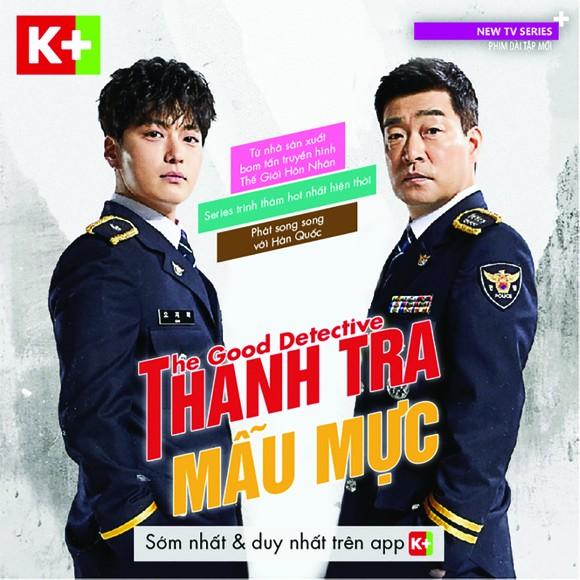 Bom tấn truyền hình The Good Detective trên K+