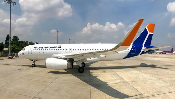 Màu sắc thương hiệu mới của máy bay Pacific Airlines