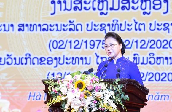 Tình cảm thủy chung, son sắt Việt - Lào ngày càng được củng cố ảnh 1