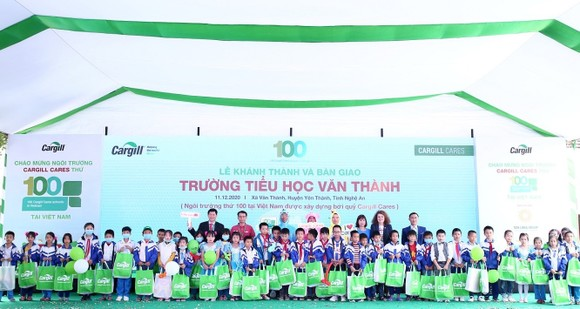 Ngôi trường thứ 100 Cargill Cares xây dựng tại Việt Nam  ảnh 2