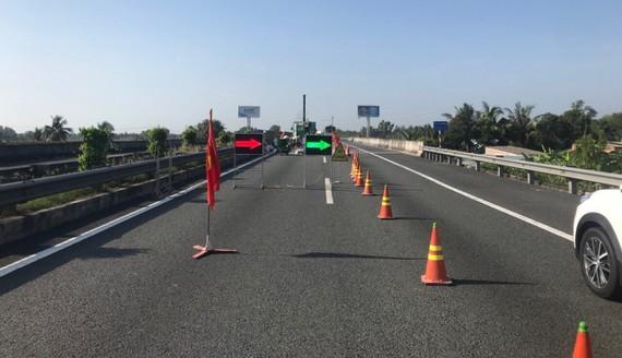 Sửa chữa các khe co giãn trên tuyến cao tốc TPHCM - Trung Lương. Ảnh minh họa