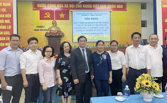 Cử tri tin tưởng doanh nhân Lê Viết Hải làm tốt công việc đại biểu Quốc hội ảnh 1