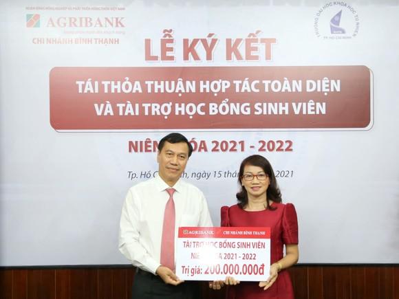 Agribank chi nhánh Bình Thạnh ký kết thỏa thuận hợp tác với Trường Đại học Khoa học Tự nhiên ( Đại học Quốc gia TPHCM) ảnh 2