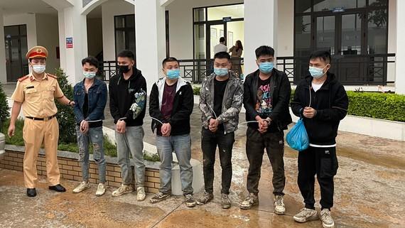 6 người Trung Quốc nhập cảnh trái phép bị bắt giữ trên cao tốc Bắc Giang - Lạng Sơn