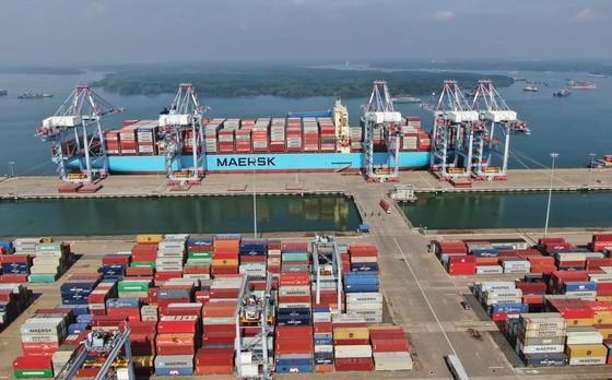 Cảng Quốc tế Cái Mép. Ảnh: QUANG KHOA
