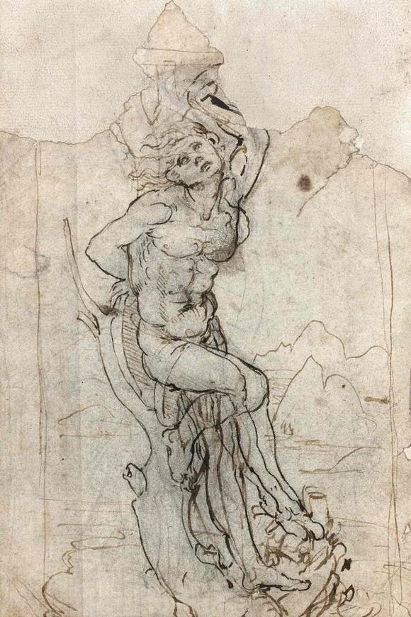 Tranh cãi quanh bức vẽ của Leonardo da Vinci ảnh 1