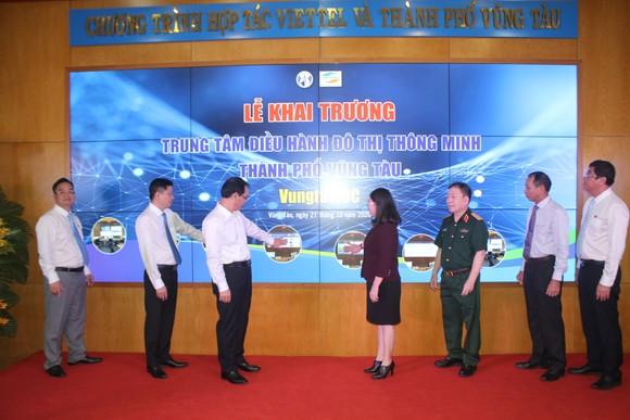 Khai trương Trung tâm điều hành đô thị thông minh TP Vũng Tàu ảnh 1