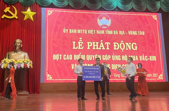 Bà Rịa-Vũng Tàu: Hơn 160 tỷ đồng quyên góp phòng chống dịch Covid-19 ảnh 1