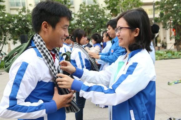 Ra quân các hoạt động tình nguyện hè tại CHDCND Lào ảnh 5