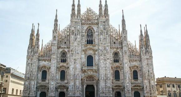 米蘭大教堂。(圖源:互聯網)