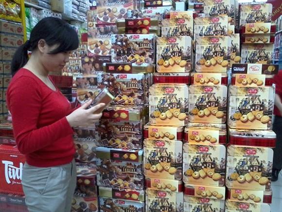 糖果餅乾是須檢查的春節食品之一。
