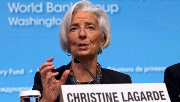 國際貨幣基金組織總裁克里絲蒂娜拉加德。(圖源:互聯網)