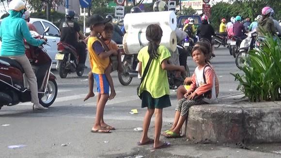 本市解決街頭兒童行乞情況。(圖源:風清)