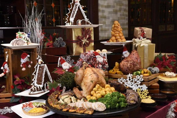 火雞美食是聖誕佳節期間的傳統餐桌上之菜餚。