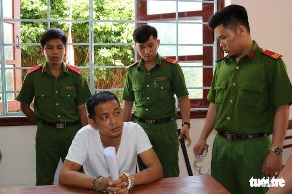 被扣押並起訴的嫌犯黃明心。(圖源:茶榮市公安廳)