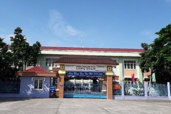 圖為事發的巴地市隆全初中學校。(圖源:互聯網)