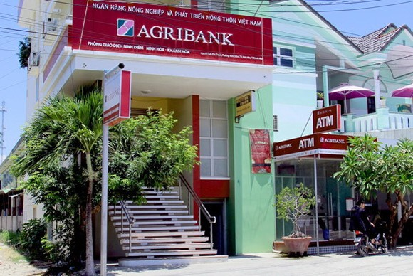 圖為農業與農村發展銀行(Agribank)慶和省分行。(圖源:互聯網)