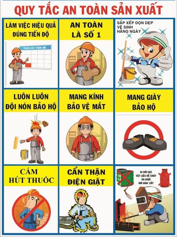 勞動安全宣傳海報。(圖源:互聯網)
