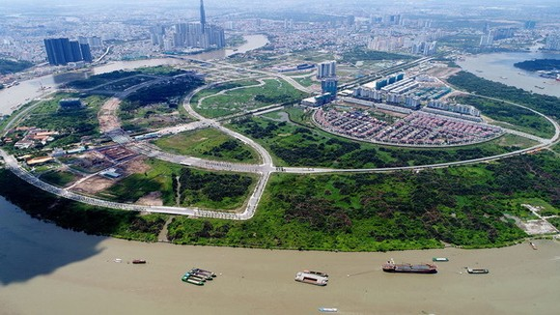 從高處眺望的守添新都市區。(圖源:互聯網)