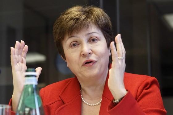 格奧爾基耶娃現任世界銀行行政總裁,正在休假期間。(圖源:AP)