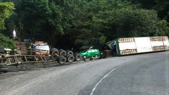 事故現場。(圖源:互聯網)
