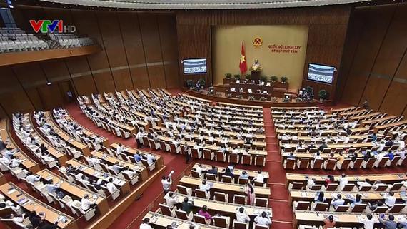 第十四屆國會第八次會議現場