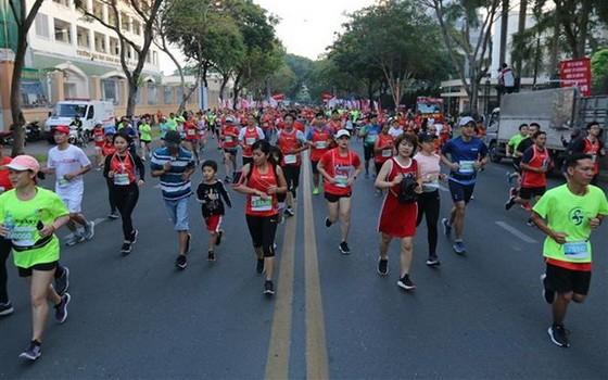 有近1萬3000人參加胡志明市國際馬拉松賽。(示意圖源:互聯網)