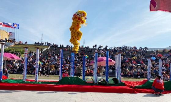 大勒花卉舞龍獅錦標賽一隅。