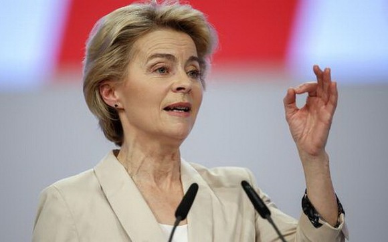 歐盟委員會主席馮德萊恩。(圖源:AFP)