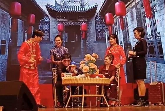 2020年賀新春歌舞演唱會吸引200多名越華觀眾觀看。