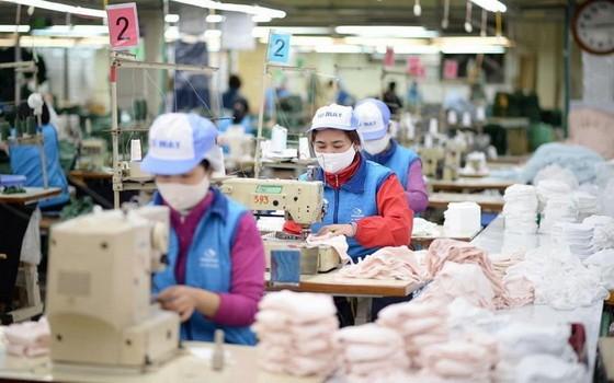 Vinatex所屬東春紡織公司致力投入優質口罩生產,滿足國內防疫所要的口罩需求。(圖源:同春公司)
