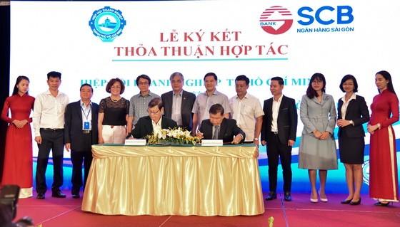 HUBA 與 SCB 簽署合作協議。(圖源:明隆)