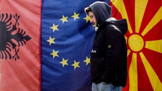 歐盟成員國當地時間24日在歐洲事務部長視頻會議上達成一致,同意啟動阿爾巴尼亞和北馬其頓的入盟談判。(示意圖源:AFP)