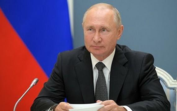 俄羅斯總統普京。(圖源:俄新社)