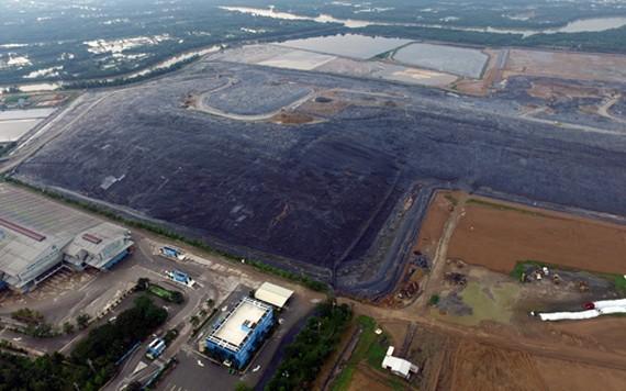 從高處俯瞰的多福垃圾場。(圖源:友元)
