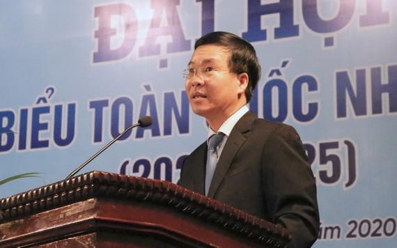 中央宣教部長武文賞在會上致詞。(圖源:T.A)