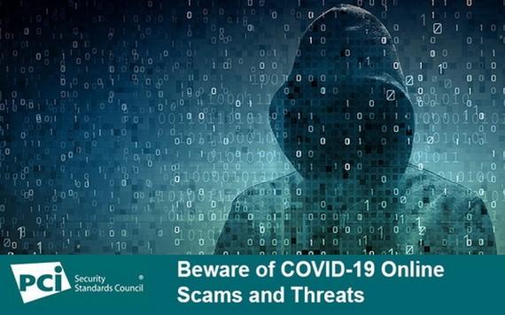 全球卡組織在Covid-19 大流行期間發佈的網絡詐騙警示。(圖源:PCI Security Standards Council)