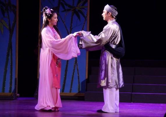 IDECAF舞台的戲劇《仙娥》。