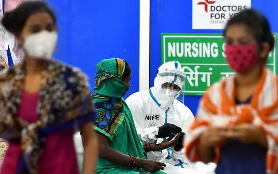 除美國和巴西外,印度目前遭受新冠病毒最為沉重的打擊。(圖源:DPA)