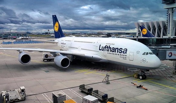 圖為德國漢莎航空的一架客機。(圖源:互聯網)