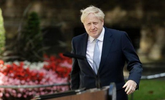 英國首相約翰遜。(圖源:互聯網)