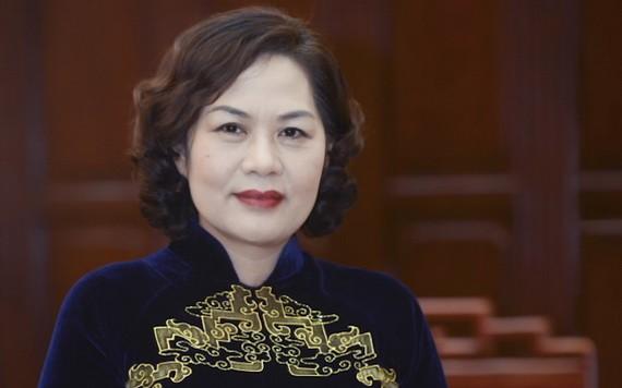 新任國家銀行行長阮氏紅。(圖源:國家銀行)