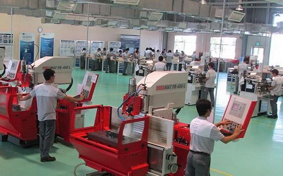 越南Bosch公司的自動化生產線。