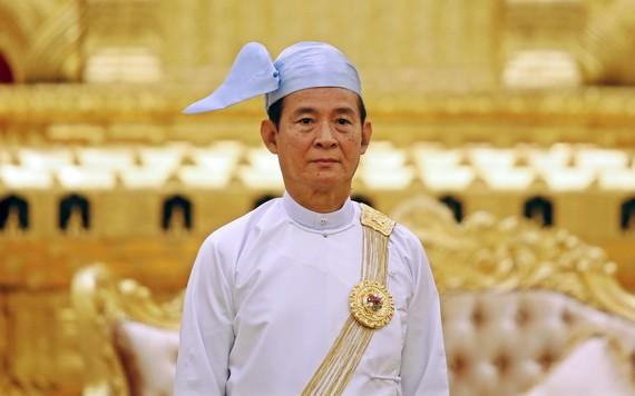 緬甸總統吳溫敏。(圖源:AFP)