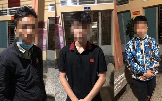 被抓獲的 3 名歹徒團夥。(圖源:志石)
