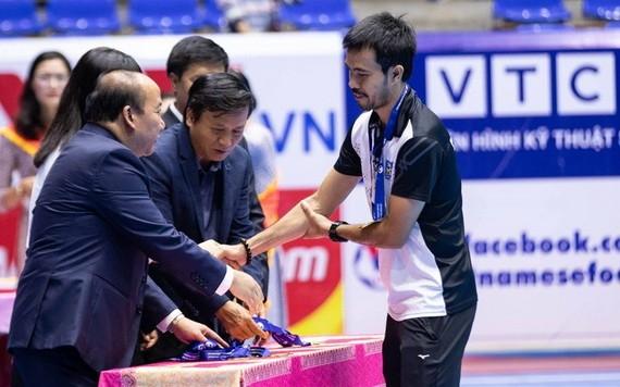 蔡山南俱樂部和范明江主教練取得了許多佳績。(圖源:TSN FC)