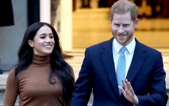 哈里和梅根夫婦。(圖源:互聯網)