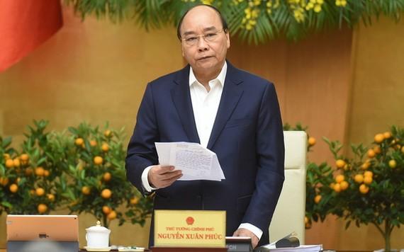 政府總理阮春福在會上致詞。(圖源:VGP)